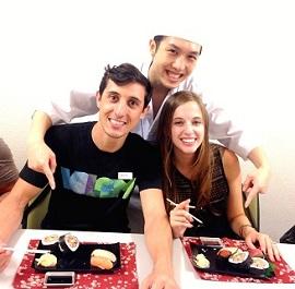 お寿司の作り方を親切にお教えいたします