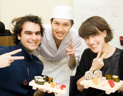 留学生の方の日本文化体験に